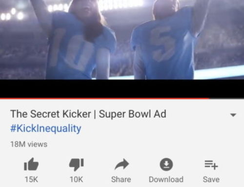 Google: Super Bowl Ads Lag Behind When it Comes to Gender Equality
